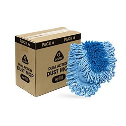 O-Cedar Dual-Action Dust Mop Refill (Pack of 6)