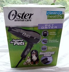 Oster Pet Dog Animal Hair fur Dryer with Shot Button & Hands Free Stand