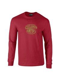 SDI NCAA Iowa State Cyclones Mascot Sleeve T-Shirt - Cardinal - Size: 2XL