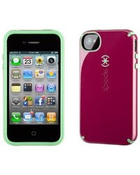 Speck Candyshell Glossy Case for iPhone 4S/4 - Burgundy