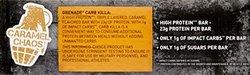 Grenade Carb Killa Bars Caramel Chaos 12 Bars Each - 2.12 oz