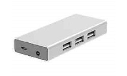 Staples USB 2.0 Hub 7 Port - White (29780-US)