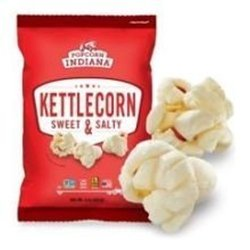Popcorn Indiana P.I. Kettlecorn Swt/Slty 7 Oz (Pack Of 12)