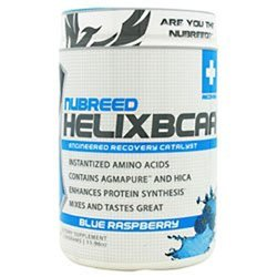 Nubreed Nutrition Helix BCAA  Blue Raspberry -- 30 Servings 0.94 lb
