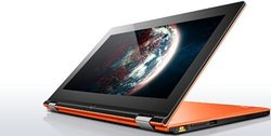 "Lenovo IdeaPad Yoga 13 13.3"" 2in1 Laptop i5 8GB 128GB Windows 8 - Orange"
