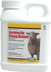 Durvet Ivermectin Sheep Drench - 8 oz.