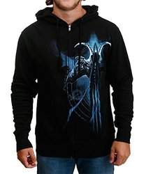 Diablo Iii Malthael Profile Zip-Up Hoodie Small - Small - Black