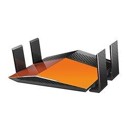 D-Link AC1900 EXO Wi-Fi Dual-Band Gigabit Router - Orange/Black