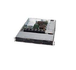 Supermicro Cse-815TQ-600WB 1U 600W 4X3.5 inch Bay SATA SAS LP black