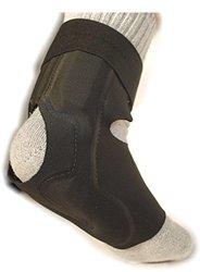 Ortho Heal Pneumatic Daytime Brace for Plantar Fasciitis Brace - Black