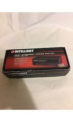 Intellinet 522595 Fast Ethernet Office 16 Port Switch - Desktop