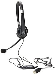 Dell UC300 Pro Stereo Over Ear Headset - Clear