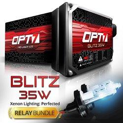 OPT7 HID Xenon Light Conversion Kit - Ice Blue