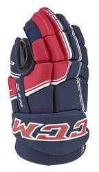 CCM QLT 270 Junior Ice Hockey Gloves - Black - Size: 10