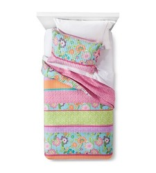 Sheringham Road 2-pc Reversible Kylie Quilt Set - Multi - Size: Twin