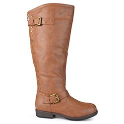Journee Spokane Women's Knee-High Boot - Cognac - Size: 10