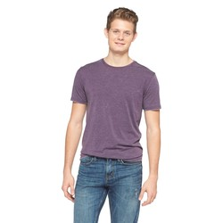 Mossimo Men's Crew Neck T-Shirt - Shiny Plum - Size: 3XLT