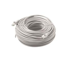 Steren Patch cable CAT 5e Gray - 50 ft
