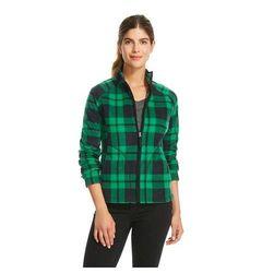 Merona Women's Fleece Top - Green - Size: XL