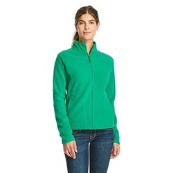 Merona Women's Full Zip Fleece Jacket - Green - Size: XXL