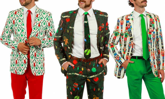 ugly sweater suit the nut cracker 36 - Christmas Sweater Suit