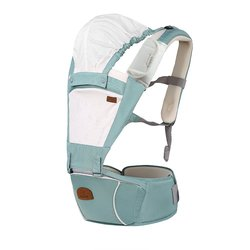 bebear Bebamour 2 in 1 Designer Sling and Baby Carrier - Green