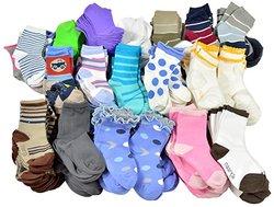TeeHee Kid's Sample Socks - 50 Pairs - Assorted