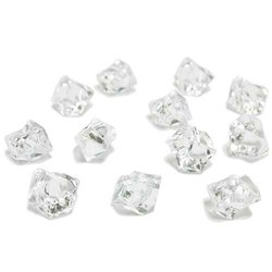 Acrylic Ice Rock Cubes - Clear - 3 Pounds