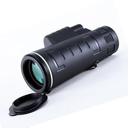 USCAMEL UW029E High Powered Monocular Single Hand Focus Telescope - Black