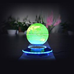 V.one Magnetic Levitation Rotating World Globe for Home/Office Desk