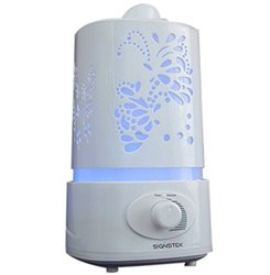 MFEEL 1.5L Ultrasonic LED Color Changing Aroma Oil Diffuser - White