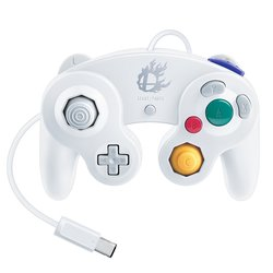 Nintendo Super Smash Bros. Classic Gamecube Controller - White