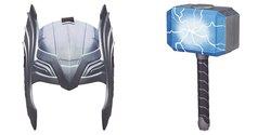 Hasbro Marvel Kids' Thor Armor of Asgard Helmet/Thor Battle Hammer Toy Set