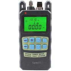 Egomall 800458 -70 to +10dbm & 1mw 3.1mi Portable Fiber Optic Power Meter