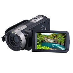 "PowerLead Puto PLD009 24MP 2.7"" LCD Screen Digital Video Camcorder - Black"