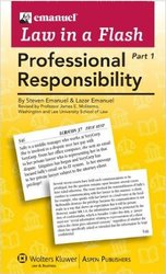 Law In a Flash Cards Professional Responsibility Aspen Publishers - 2010