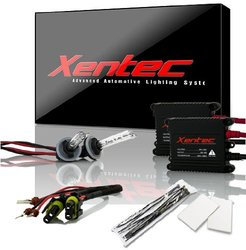 Xentec H1 8000K Advanced Slim Alloy Ballast HID Xenon Kit - Iceberg Blue