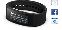 Sony IP68 SWR30 Waterproof Talk SmartBand - Black (1291-6168)