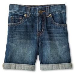 Cherokee Toddler Boys' Jean Short - Blue - Size: 5T