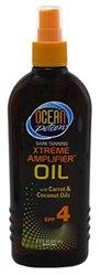 Ocean Potion Spf 4 Dark Tan Xtreme Amplifier Oil - 8oz (010)