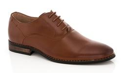 Franco Vanucci Men's Dress Shoe Lace-up Andrew - Tan - Size: 11.5