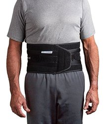 "Aspen Quickdraw Pro Medical Grade Back Brace - Black - Size: M (31""-37"")"
