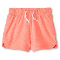 Circo Toddler Girls' Knit Shorts - Moxie Peach - Size: 2T