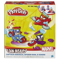 Play-Doh Marvel Can-Heads Vehicles Toy for Children