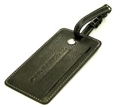 Carnegie New Hall Luggage Tag - Shiny Black