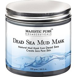 Majestic Pure Natural Dead Sea Mud Mask Facial Cleanser - 8.8Oz