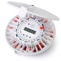 Livefine Automatic Pill Dispenser - Clear Top