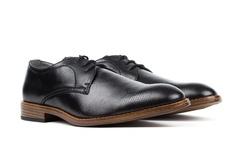 Vincent Cavallo Men's Pin-Punch Oxford Dress Shoes - Black - Size: 10.5