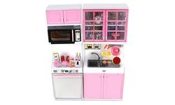 Modern Kitchen 16' Battery Operated Toy Kitchen Playset