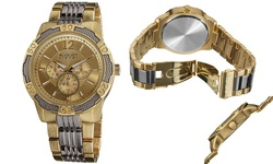 August Steiner Men's Quartz Multi-Function Sport Bracelet Watch(AS8058TTG)